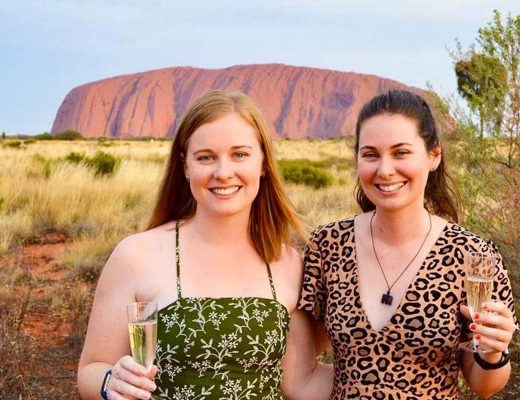 female outback tour